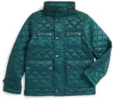 Burberry Boy's Halesworth Quilted Field Jacket