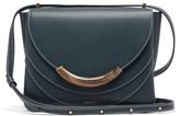 Wandler Luna Small Leather Shoulder Bag - Womens - Blue