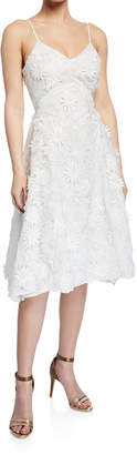 Mestiza New York Adrianna V-Neck Spaghetti-Strap Floral Lace Dress