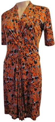 HUGO BOSS Orange Cotton Dress for Women