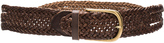 Linea Pelle Twist Braid Hip Belt