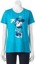 Disney Disney's Minnie Mouse Juniors' Cute Pose Graphic Tee