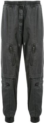Juun.J Zip-Detail Tapered Jeans