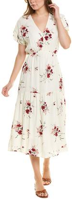 Taylor Crepe Midi Dress