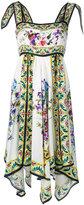 Dolce & Gabbana floral panel dress - women - Silk - 36