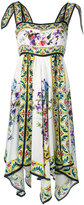 Dolce & Gabbana floral panel dress - women - Silk - 44