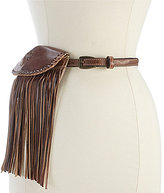 Bed Stu Bliss Fringed Pouch Belt