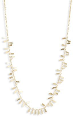 Saks Fifth Avenue Made In Italy 14K Yellow Gold Geometric Necklace