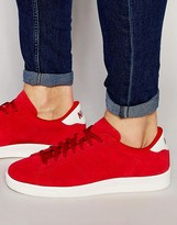 Nike Tennis Classic Cs Suede Trainers In Red 829351-600