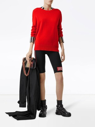 Burberry Red Cashmere Sweater
