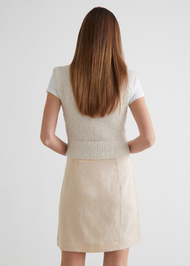 Thumbnail for your product : And other stories Buttoned Mini Skirt