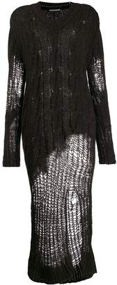 Our Legacy distressed knitted dress