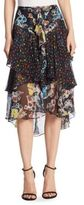 Jason Wu Printed Chiffon Skirt