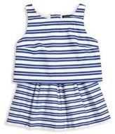 Ralph Lauren Toddler's, Little Girl's & Girl's Two-Piece Striped Top & Skirt Set