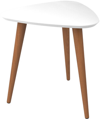 Manhattan Comfort Utopia 19.68In High Triangle End Table