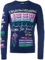 Kenzo graphic pattern sweater - men - Cotton - M