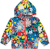 Stella McCartney FLORAL-PRINT HOODED JACKET