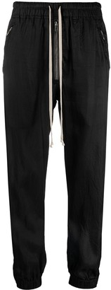 Rick Owens Satin Track Trousers