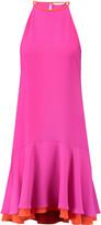 Diane von Furstenberg Kera layered crepe dress