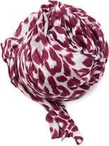 MANGO Leopard foulard