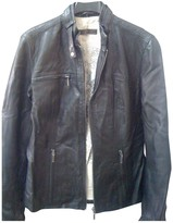 Oakwood Black Leather Jacket for Women