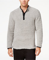 Kenneth Cole Reaction Men's Fleece Henley Lounge Top