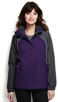 Lands' End Women's Regular 3 in 1 Squall Jacket-Zesty Orange/Soapstone