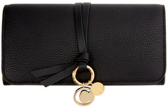 Chloé Black Long Alphabet Wallet