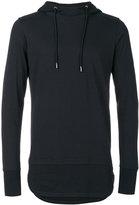 Diesel Black Gold layered hoodie - men - Cotton - M