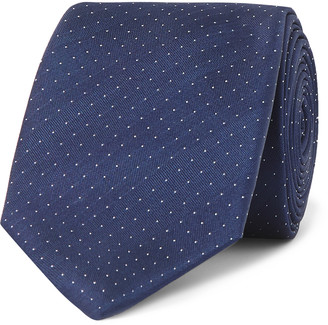 Lanvin 6cm Pin-Dot Silk-Satin Tie