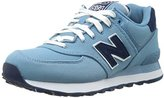 New Balance Women's WL574 Pique Polo Collection Runner Sneaker