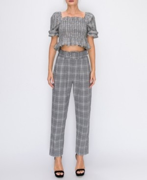 ENGLISH FACTORY Baggy Trousers With Belt