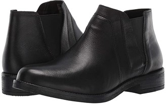 Clarks Demi Beat (Black Leather) Women's Boots
