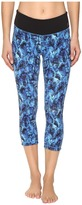 New Balance Premium Performance Capri Print Pants