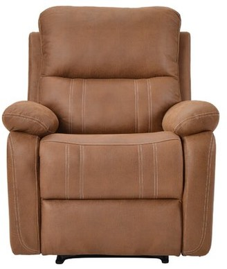 Red Barrel Studio Manistee Faux Leather Manual Recliner