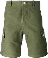 Bleu De Paname - back pocket shorts - men - Cotton - 28