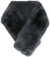 N.Peal rabbit fur neckwarmer