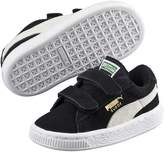 Suede 2 Strap Kids' Sneakers