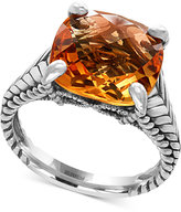 Effy Sunset by Citrine Ring (6-7/8 ct. t.w.) in Sterling Silver