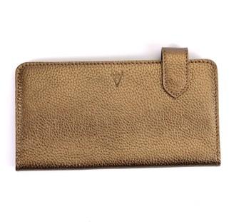 Atelier Hiva Fluctus Leather Wallet Metallic Brown