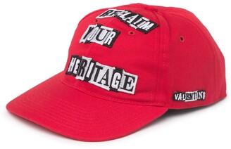Valentino Reclaim Your Heritage Baseball Cap