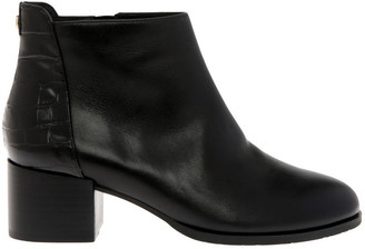 Trent Nathan Christa Black Cow Leather Boot