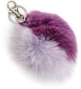 Bari Lynn Girls' Keychain with Fur Pompom