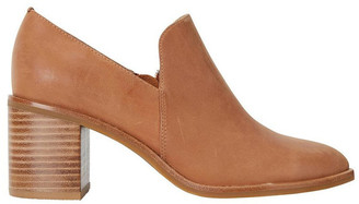 Jane Debster Decade Tan Glove Heeled Shoes