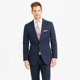 J.Crew Ludlow suit jacket in navy Italian stretch chino