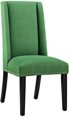 Modway Baron Parsons Upholstered Fabric Dining Side Chair