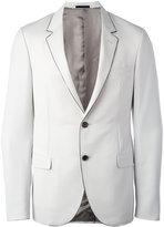 Lanvin contrast trim blazer - men - Cupro/Wool - 48