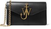 J.W.Anderson Textured-leather Shoulder Bag - Black
