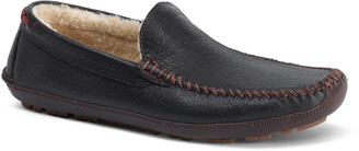 Trask Denton Genuine Shearling Lined Driving Shoe
