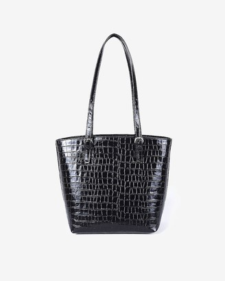 Express Joanna Maxham Leather Bell Tote